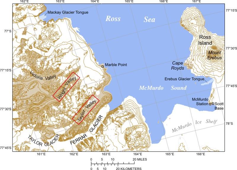 Suchá údolí McMurdo